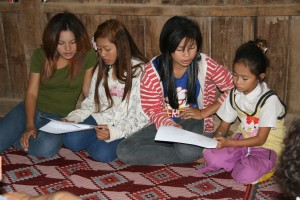 Christmas words to Cambodian tunes