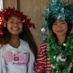 Being festive