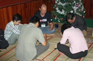 Praying for each other and the people groups God has called us to