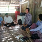Sokha telling a story