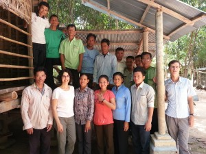 The pastors and children's workers at the Prey Veng storysmith workshop